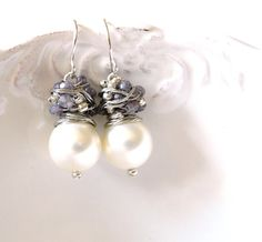 FREE shipping  The  Franca in silver by anthology27 on Etsy, $27.95