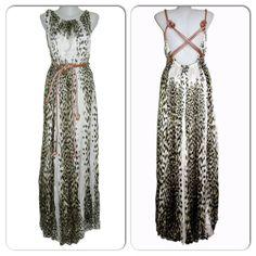 Just Cavalli vestido animal print. Just Cavalli animal print dress. Reina,  Llevamos, 91260657ff