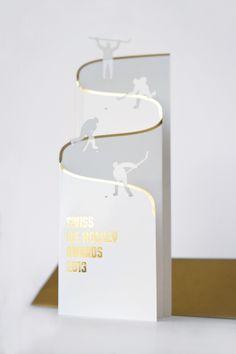 Ice Hockey 620863498619195042 - Swiss Ice Hockey Awards 2012 / 2013 by Markus Isler, via Behance Source by
