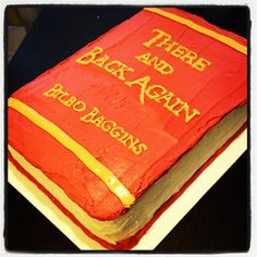cakes that look like books | Before I start rambling about Middle Earth I'm going to stop here and ...