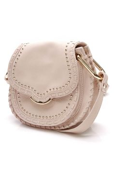 This Cynthia Rowley Phoebe cross body bag is as cute as can be! . . . #cynthiarowley #bag #designer #designerbag #designerhandbag #handbag #crossbodybag #smallcrossbodybag #studded #studdedbag #fashion #