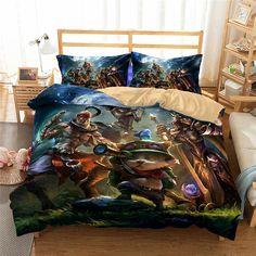 3D Game League of Legends Printed Bedding Sets Duvet Cover Set