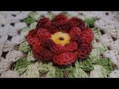 Passo a passo Flor Primavera em Crochê