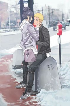 NaruHina AU - don't know what to say but KAWAIIIIIIII