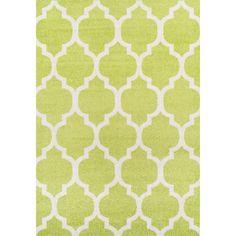 Finesse Dalyn Lime Area Rug | Wayfair