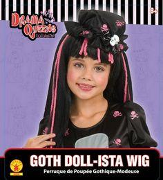 Kids Wigs, Halloween Wigs, Snow White, Goth, Dolls, Disney Princess, Gothic, Baby Dolls, Snow White Pictures