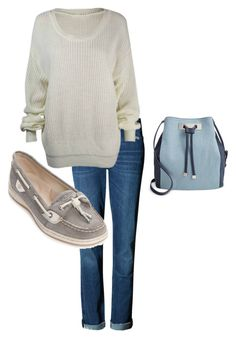 Untitled #186 by marisa-totten on Polyvore featuring Sperry and INC International Concepts