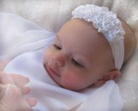 Baptism+Headbands | Christening Headbands, Baptism Headband, Blessing & Naming Ceremony ...