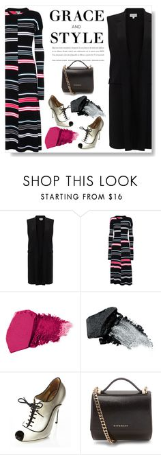 """""""Grace and Style"""" by juliehalloran ❤ liked on Polyvore featuring Jigsaw, Kenzo, Gorgeous Cosmetics, Valentino and Givenchy"""