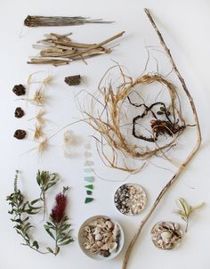 lovely beach combing treasure - 5 Kids craft ideas to make on a beach holiday - via the red thread