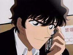 detective conan - matsuda junpei yeah you HAD TO kill him, didn't you. he's even more attractive than the hero of the manga. Manga Detective Conan, Police Story, Dc World, Detective Conan Wallpapers, Kaito Kid, Police Academy, Magic Kaito, Haikyuu, Tokyo