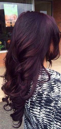 16 Best Burgundy Plum Hair Color Images Red Hair Hair Coloring