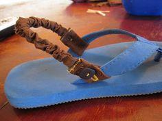 Flip-Flops Stay On Strap