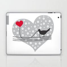 L♥ve Laptop & iPad Skin by Vivi Nicolin - $25.00 - Buy here: http://society6.com/vivinicolin/Lve_Laptop-Skin