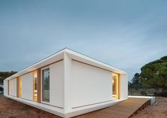 Imagine living in this stunning prefabricated summerhouse.