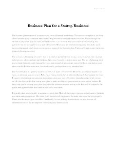 Business Plans & Financial Statements Template Gallery | SCORE ...
