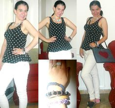 Elegance and Mommyhood.: Stripes and Polka Dots Remix.