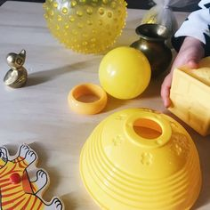 Yellow textures and materials for loose parts play Kitchen Appliances, Texture, Play, Yellow, Diy Kitchen Appliances, Home Appliances, Appliances, Surface Finish, Kitchen Gadgets