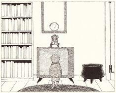 The Shrinking of Treehorn: An Edward Gorey Illustrated Treasure, 1988 | Brain Pickings