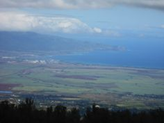 A view of mini Maui from the middle of Haleakala volcano
