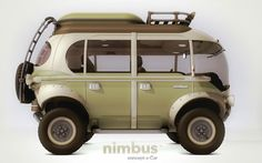 Nimbus e-Car, concept hybrid bus