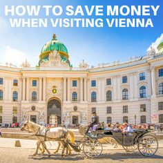 With over 100 museums and as many nightly concerts and performances in Vienna, there's simply more to do than you have hours—or money—to spend. Before you've narrowed down exactly what you want to see, you can at least figure out how to save while doing it. Here are a few suggestions for cutting costs as you explore Vienna. #travel #traveltips #vacation #wanderlust #vienna #austria #europe