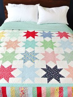 Reverse Sawtooth Star Quilt Pattern