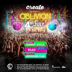 Enter #PromoCode RAVESAVE for 20% OFF #CreateNightclub tix  http://j.mp/CREATERL  #DannyAvila @dannyavila  #3Lau @3lau  #AdventureClub @adventureclub  #NoizeFridays  #ArcadeSaturdays #Insomniac #InsomniacClubs #InsomniacEvents #SBE #RaveLoop #RaveLoopDotCom #RaveSave #RaveMeetup #HollywoodNightlife #HollywoodBlvd #SunsetBlvd #HouseMusic #BigRoomHouse  #ElectroHouse #FutureHouse #FutureBass #DeepHouse #BassHouse #ProgressiveHouse #TrapMusic #Chillstep #PLUR #TerryPham