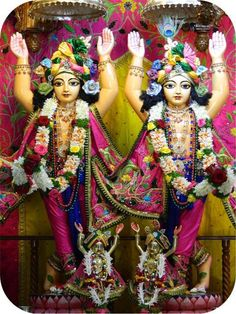 Today's Darshan (30-04-13) Gaurnitai @ISKCON Pune