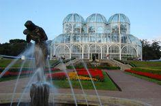 Jardín botánico de Curitiba, Brasil