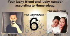 Every alphabet in your name has a number, and every number has power. That's how we calculated your lucky number and your lucky friend.