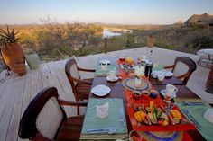 dinner outside under the amazing African sky @sasaab camp
