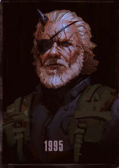 Big Boss aka Venom Snake Metal Gear