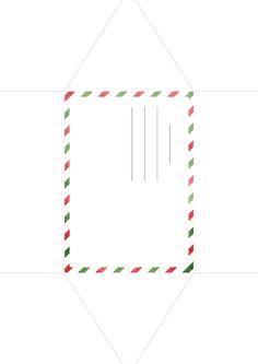 Envelope to Santa - boríték a Mikulásnak