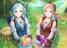Flora and Felicia (ippers) - NintendoWaifus Fanfiction, Fire Emblem Characters, Fire Emblem Fates, Chef D Oeuvre, Manga Games, Jojo's Bizarre Adventure, Female Characters, Cool Art, Flora