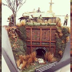 """Haven't you seen my Mummy?"" diorama. Unknown Modeler #scalemodel #diorama #plastickits #usinadoskits #udk #war #guerra #guerre #bataille #modelismo #miniatura #miniature #maqueta #maquette"