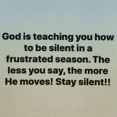 Stay Silent and Listen for God's Voice! Bible Verses Quotes, Faith Quotes, Me Quotes, Motivational Quotes, Inspirational Quotes, Scriptures, A Silent Voice, Faith Prayer, Quotes About God