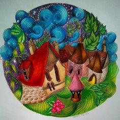 Themagicalcity Magicalcity Lizziemarycullen Adultcoloringbook Adultcoloring Colour Coloringbook Coloringbookforadults