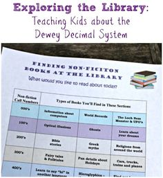 Helping kids learn to navigate the library {with free printable}!
