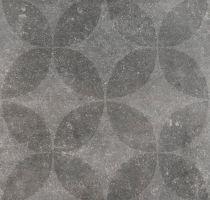 Vtwonen Buitentegels Duostone Hormigon Floret Antraciet 60x60 cm