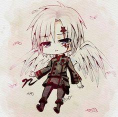 Allen as an angel
