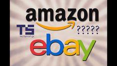 Αγορές από Amazon και Ebay (?) Tech Companies, Company Logo, Logos, Business, Ebay, Amazon, Youtube, Amazons, Riding Habit