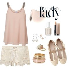"""""""Dusty Rose"""" by kaylarippee on Polyvore"""