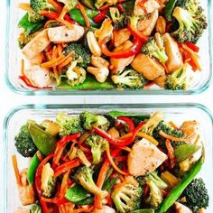 Sometimes an EASY stir fry makes the best mealprep forhellip