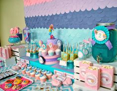 Bubble Guppies Party: Kendall's Under the Sea Bash. What time is it? It's Bubble Guppies Party time! Today I'm sharing a sweet and girly Bubble Guppies Party. Be sure to check out all of our Under the Sea Party Ideas.