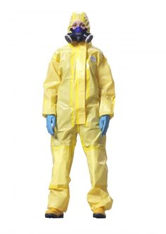 Lightweight disposable chemical suit for protection against splashes and sprays of hazardous chemicals