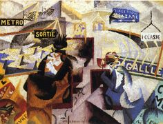 The North-South by Gino Severini