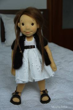 Mary Waldorf inspired doll