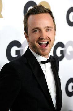 Aaron Paul... Looks pretty nice when he's all cleaned up.