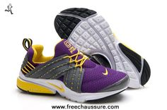 579915-105 femmes nike lunar presto pourpre lemon jaune chaussures sports chaussures magasin